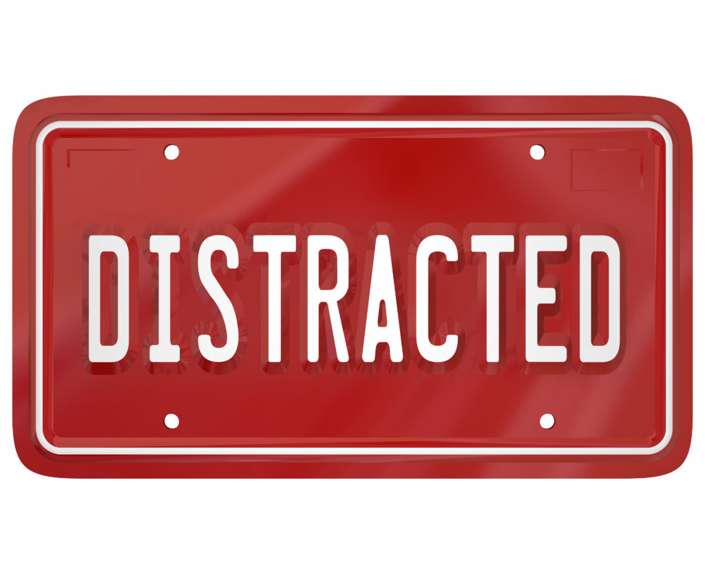car accident attorneys - distracted driver